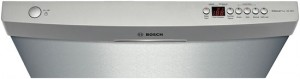 SHE55R55UC Bosch 500-series dishwasher controls (stainless steel)