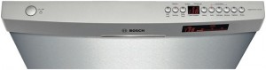 SHE68R55UC Bosch 800-series dishwasher controls (stainless steel)