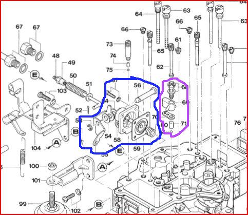 rx 7 carburator troubleshooting rh free info pages com Holley Carburetors 1985 mazda rx7 carburetor diagram