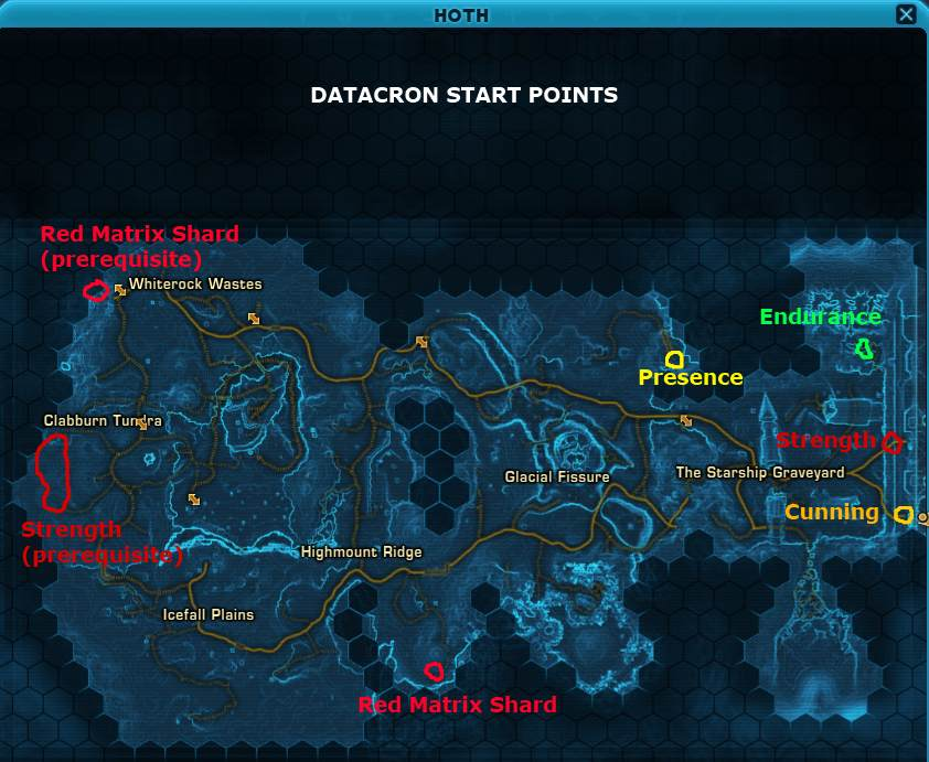 swtor republic datacrons hoth datacron guide (republic), wiring, icefall plains location world map hoth